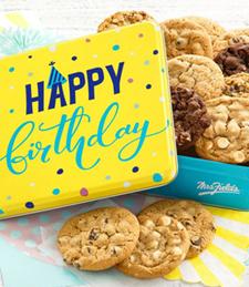 HAPPY BIRTHDAY 12 COOKIE TIN
