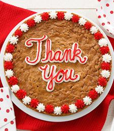 THANK YOU BIG COOKIE CAKE