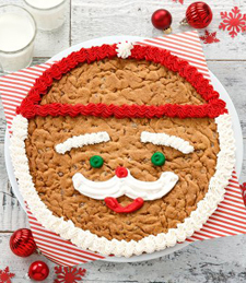 MR. CLAUS COOKIE CAKE