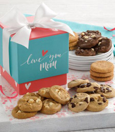 Love You Mom Mini Ribbon Box