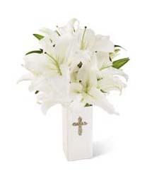 Hope in Light Sympathy Bouquet
