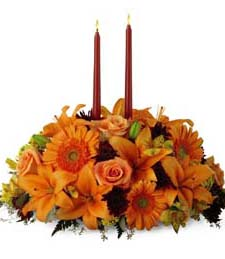 Fall into Giving Centerpiece
