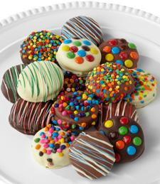 Golden Edibles� Birthday Belgian Chocolate-Dipped Oreo� Cookies