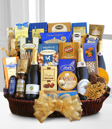 Sparkling Celebration Gourmet Basket