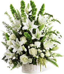 Flourishing Moments Sympathy Basket