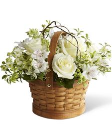 Healing Gardens Sympathy Basket