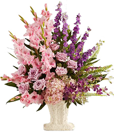 Overflowing with Love Sympathy Arrangement