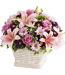Whirlwind of Love Sympathy Basket