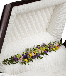 Tribute of Love Casket Garland