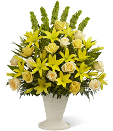 Cheerful Memories Sympathy Arrangement
