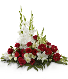 Crimson Tide Sympathy Arrangement