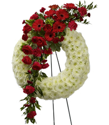 Glimpse of Heaven Sympathy Wreath