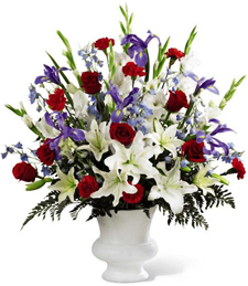 A Celebrated Life Sympathy Bouquet