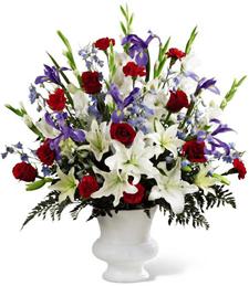 A Celebrated Life Sympathy Bouquet