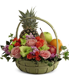 FlowerDelivery.com coupon: Garden of Fruits anf Flowers