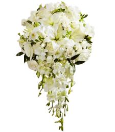 Shimmering Blossoms Bouquet