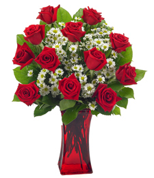 FlowerDelivery.com coupon: A Dozen Romantic Wishes!