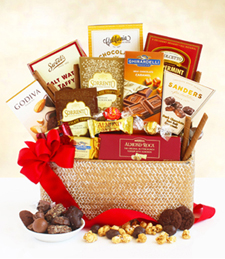 Deluxe Chocolate Indulgence Basket