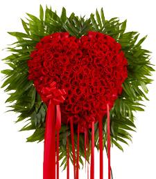 My Bleeding Heart Standing Wreath