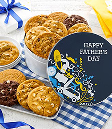 Happy Father's Day 12 Cookie Tin