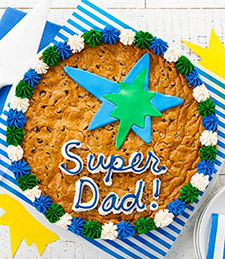 Super Dad Cookie Cake