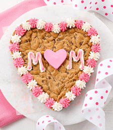 Mom Heart Cookie Cake