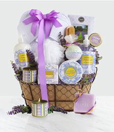 Lavender Spa Getaway Gift