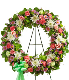 Circle of Friendship Sympathy Wreath