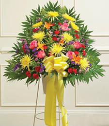 Colors of Compassion Standing Basket
