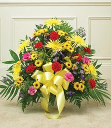 Bright Moments Sympathy Basket