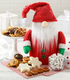 HOLIDAY GNOME COOKIE JAR