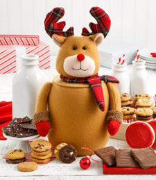 CHRISTMAS COOKIE JAR