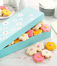 FROSTED COOKIE BOUQUET BOX