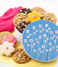 SPRING FLOWERS COMBO TIN
