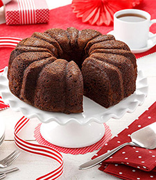 DOUBLE DECADENCE CHOCOLATE COFFEE CAKE