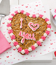 9� I LOVE YOU COOKIE CAKE