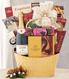 Houdini Blanc de Noir Champagne Collection Gift Basket