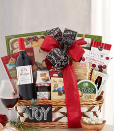 Kiarna Vineyards Cabernet Season's Greetings Gift Basket