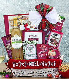Joy to the World Sauvignon Blanc Collection Gift Basket
