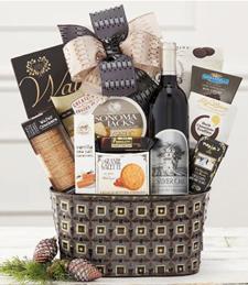 Silver Oak Cabernet Gift Basket