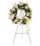 Circle Daisy Wreath