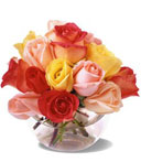 Brighten the Day Thank You Rose Bouquet