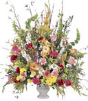 Blessings of the Earth Funeral Arrangement