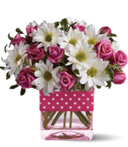 Little Polka Dotted Posy