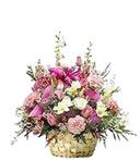 Pink Spring Basket