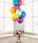 Pinky Vase & Balloons