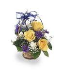 Mixed Simplicity Birthday Basket