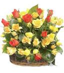 Autumn Rose Basket