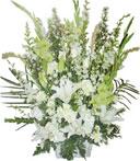Pure Grace Standing Funeral Bouquet