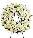 Far and Away Sympathy Wreath
